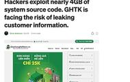 Hacker rao bán mã nguồn hệ thống Giao hàng Tiết kiệm