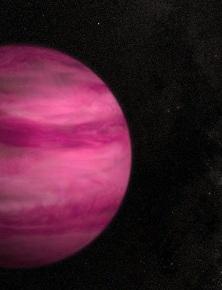 Vì sao ngoại hành tinh kỳ lạ này lại có màu hồng như viên kẹo khổng lồ ngoài vũ trụ?