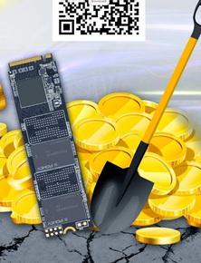 Nhu cầu đào coin bằng HDD và SSD tăng cao, nhà sản xuất Trung Quốc công bố SSD chuyên dụng để đào coin