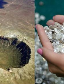 Rộng tới 100km, hố thiên thạch này tại Nga đang ẩn chứa hàng nghìn tỷ carat kim cương