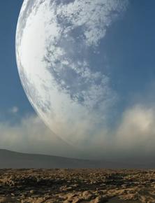 Sẽ ra sao nếu khoảng cách giữa Mặt Trăng và Trái Đất chỉ còn một nửa?
