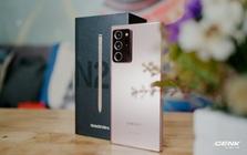 Mở hộp Galaxy Note20 Ultra chính hãng giá 30 triệu đồng