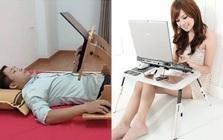 5 mẫu bàn để laptop hay lạ trên chợ mạng: Loại nằm cũng dùng được, loại biến hình chuẩn Transformer