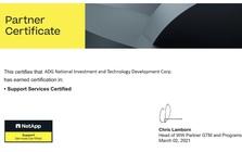 ADG trở thành đối tác quốc tế của thương hiệu NetApp tại Việt Nam