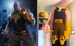 Mất 4 tháng và 4 kg vật liệu, fan Marvel khéo tay tạo ra đại ác Thanos bằng len cao hơn 2,5 mét