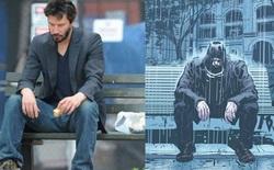 Keanu Reeves đưa bức ảnh meme huyền thoại của chính mình vào trong bộ truyện tranh đầu tiên do anh sáng tác