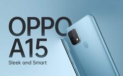 OPPO A15 ra mắt: Helio P35, 3 camera, giá 3.5 triệu đồng