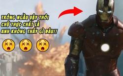 """Bộ giáp sắt trong Iron Man 1 khiến Robert Downey Jr. """"mù dở"""", cứ đội mũ lên là không thấy gì xung quanh"""