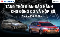 Việt Nam Suzuki tăng thời gian bảo hành cho động cơ và hộp số của Ertiga và XL7, đổi mới dịch vụ hậu mãi