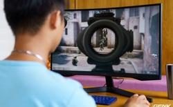 Trên tay và trải nghiệm nhanh Odyssey G5: màn hình cong chuyên game 144 Hz, tốc độ đáp ứng 1ms từ Samsung