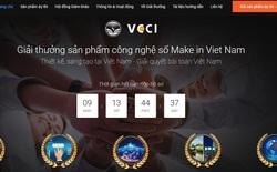 Giải thưởng Sản phẩm công nghệ số Make in Viet Nam sắp hết hạn đăng ký