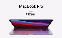 """Apple ra mắt MacBook Pro 13"""" với chip M1: Nhanh hơn 3 lần laptop Windows cùng phân khúc, thời lượng pin lên tới 20 tiếng, giá không đổi"""