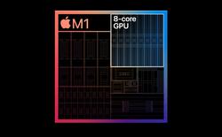 GPU tích hợp của Apple M1 đạt điểm benchmark ngang ngửa GTX 1050 Ti