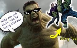 """Hulk có thể bật nhảy cao đến mức chính hoạ sĩ """"cha đẻ"""" còn lầm tưởng anh biết bay"""