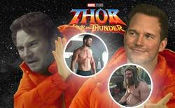 """Sợ bị bạn diễn lép vế, """"Star-Lord"""" hờn dỗi yêu cầu """"Thor"""" ngừng tập gym để béo ú trở lại"""