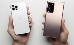 RAM bằng nửa nhưng iPhone 12 Pro vẫn vượt mặt Galaxy Note 20 Ultra trong bài kiểm tra tốc độ