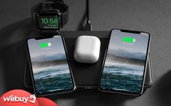 """Đế sạc AirPower của Apple """"đi vào dĩ vãng"""" nhưng đã có phiên bản đời thực tuyệt đẹp, sạc 3 máy cùng lúc, giá từ 3.7 triệu"""
