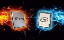 """""""Chẻ"""" chip Intel 14nm với AMD 7nm để so sánh, có thật chip Intel lớn gấp đôi đối thủ?"""