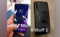 Đây là Galaxy S21+ với thiết kế mặt lưng mới