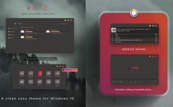 Hướng dẫn cài ko-Z for Windows 10, thêm một giao diện nền tối cực chất dành cho bạn