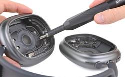 'Phẫu thuật' AirPods Max, iFixit cho biết tai nghe của Apple rất khó tháo rời