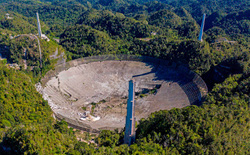 Chưa kịp tháo dỡ, kính viễn vọng khổng lồ của Đài quan sát Arecibo đã sập