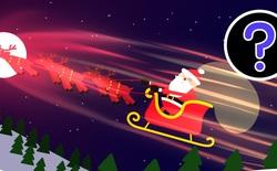 Dưới góc nhìn khoa học, ông già Noel dùng cách nào để vận chuyển hết quà chỉ trong 1 đêm?