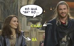 """Nữ chính của Thor: Love and Thunder ái ngại thể hình lực lưỡng của chàng thần sấm: """"Đứng cạnh nhau tôi sẽ thành bà của cậu ấy mất"""""""
