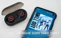 Cẩn thận với tai nghe Sony fake trên mạng bán chỉ 150k: Rõ là hàng giả mà vẫn đầy người mua, nhận cả trăm đánh giá 5 sao