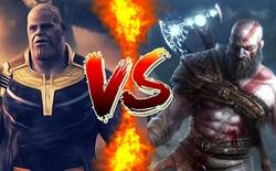 Internet tranh cãi này lửa vì câu hỏi: Thanos tử chiến với Kratos, ai sẽ là người chiến thắng?