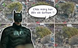 Mời bạn tham quan phim trường The Batman: Hoá ra thành phố Gotham được tạo ra công phu như thế này đây