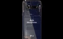 Ảnh quảng cáo cho thấy LG V60 ThinQ sẽ có 4 camera và pin lên tới 5000mAh