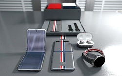 Galaxy Z Flip bản đặc biệt Thom Browne sẽ có giá 2480 USD, gần gấp đôi so với bản thường