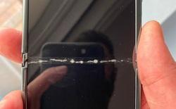 Màn hình Samsung Galaxy Z Flip nứt vỡ ngay lần gập mở đầu tiên, nguyên nhân không ai ngờ đến