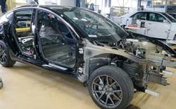 Linh kiện điện tử trong xe hơi Tesla đã đi trước 6 năm so với Toyota và Volkswagen