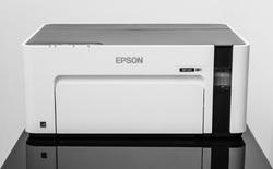 Đây là máy in đơn sắc Epson EcoTank M1120: thiết kế an toàn, cơ chế hoạt động đơn giản, chi phí không rẻ