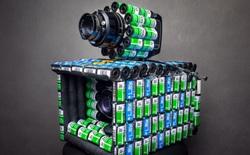 YouTuber kiêm nhiếp ảnh gia biến hàng trăm vỏ film 35mm thành máy ảnh film cực độc