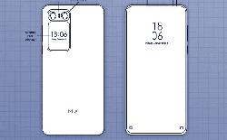 Xiaomi Mi MIX 2020 lộ diện thiết kế cực kỳ độc đáo, hai màn hình, không camera selfie