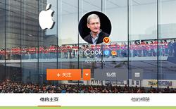 CEO Tim Cook sử dụng Weibo để gửi thông điệp bằng tiếng Trung tới người dùng Trung Quốc