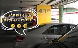 """Lộ diện """"cá vàng chúa"""": lập 1 tài khoản Instagram chỉ để lưu vị trí gửi xe trong trung tâm thương mại cho khỏi quên"""