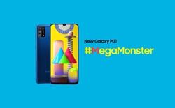 Galaxy M31 ra mắt: 4 camera 64MP, pin 6000mAh, giá từ 4.9 triệu đồng