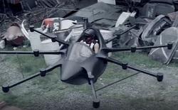 """Đây là chiếc """"ô tô bay"""" nhỏ nhất thế giới: Thiết kế giống drone, chạy bằng điện nhưng cứ 15 phút phải sạc 1 lần"""