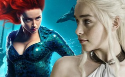 """Fan kiến nghị """"Mẹ Rồng"""" thay Amber Heard trong Aquaman, tạo cơ hội cho Khaleesi đoàn tụ với Khal Drogo"""