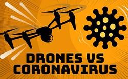Drone trở thành món vũ khí lợi hại của Trung Quốc trong cuộc chiến với virus corona