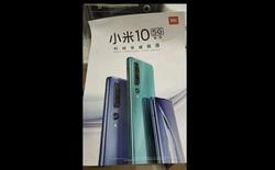 Lộ thiết kế Xiaomi Mi 10 qua poster quảng cáo