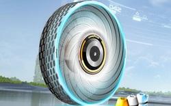 Goodyear phát minh ra loại lốp mới không bao giờ cần thay, mặt lốp có khả năng tự tái sinh