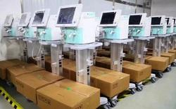 Máy thở - thiết bị đang được cả thế giới săn lùng: Hàng Made in China lên ngôi chưa từng có, có nước mang cả máy bay quân sự đến tận nhà máy ở Trung Quốc mua hàng
