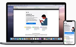 Apple ra mắt trang web và ứng dụng sàng lọc Covid-19