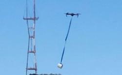 Tình bạn đẹp giữa thời Covid-19: dùng drone để ship khẩn cấp giấy vệ sinh cho bạn