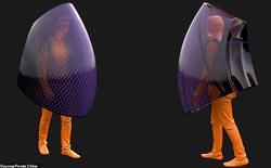 """Kỹ sư người Trung Quốc phát minh ra một loại """"bong bóng"""" cá nhân, có thể tiêu diệt virus Covid-19"""